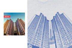 Architect Blueprint Photoshop Action Product Image 4
