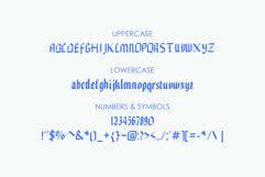 EDGAR, Handmade Gothic Typeface Product Image 4