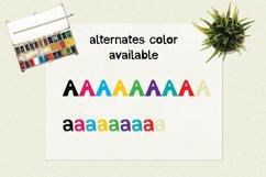 Cut Out Paper | Color Font Product Image 5