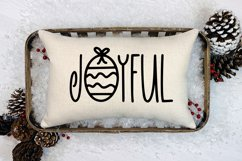 Holiday Sparkle - A Hand-Lettered Christmas Font Product Image 4
