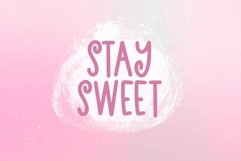 Web Font Strawberry Orchard - A Fun andwritten Font Product Image 3