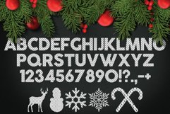 Christmas Knitted Font v4 Product Image 2