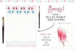 Watercolor Clip Art - Popsicles Product Image 2