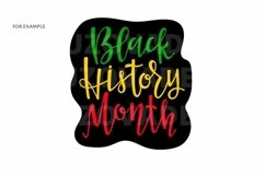 Black History month sublimation png svg eps African American Product Image 5