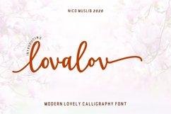Lovalov lovely modern calligraphy Product Image 1