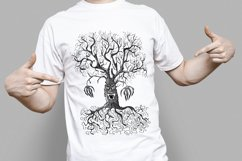 Hand drawing scary tree in doodle style Product Image 2