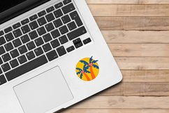 Laptop Sticker Mockup | 1 PSD with 5 JPG images Product Image 4