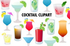 Cocktail Clipart Product Image 1