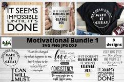 Motivational quotes svg Bundle, Inspirational svg bundle Product Image 1