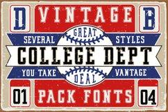 Vintage College Dept_Pack Product Image 2