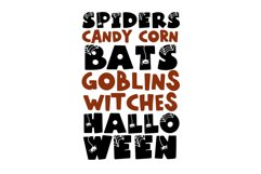 Spooky - A Fun Halloween Font Product Image 6