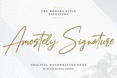 Signature Font - Amostely Product Image 1