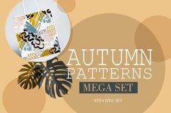 Autumn pattern Mega set Product Image 1