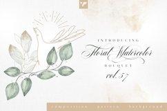 Floral Watercolor Bouquet Vol57 Product Image 1