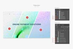 Blue Wavy Backgrounds and Bonus - Web Headers Product Image 3