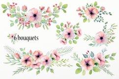 Watercolor floral design elements Product Image 2