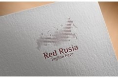 Rusia Map Logo Product Image 1