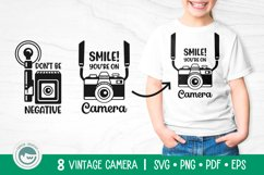 Camera SVG Cut Files Bundle Product Image 3