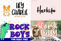 BIG BUNDLE - Seasonal Crafting Font Collection!! Product Image 12