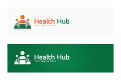 Health Hub - Fitness Group Stock Logo Design for Gym & Club Product Image 2