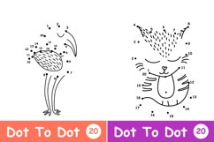 Worksheet animals and coloring book Product Image 10