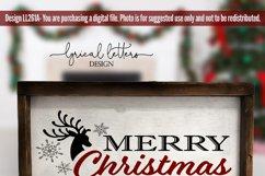 Christmas SVG Bundle of 5 Cut Files LL261 Product Image 4