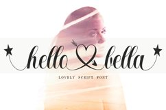 Hello Bella Script Product Image 1