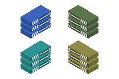 isometric server Product Image 1
