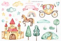 Little princess watercolor Product Image 8