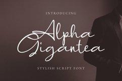 Alpha Gigantea Font Product Image 1