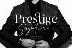 Prestige Signature - Serif & Script Product Image 1