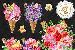 Ice cream Bouquet Clip Art Product Image 2