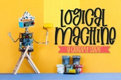 Logical Machine - A Quirky Serif Type Product Image 1