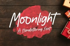 Web Font Moonlight - Handlettering Font Product Image 1
