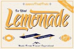 Lemonade Typeface with 5 Badges Bonus Product Image 2