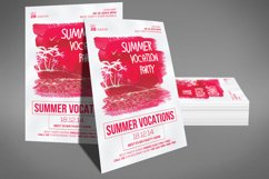 Summer Vocation Party Flyer Product Image 3