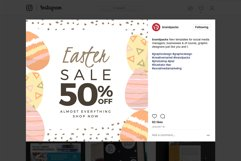 Easter Instagram Templates Product Image 6