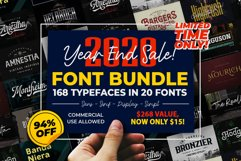 Year End Sale - Font Bundle 2020 Product Image 1