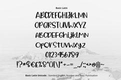 Alpen Snow Font Product Image 2