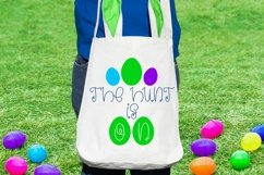 Web Font Hoppy Easter - An Easter Display Font Duo Product Image 4