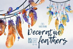 Decorative Feathers Product Image 1