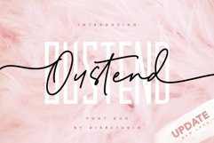 Oustend Font Product Image 1