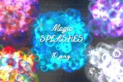Bright colorful magic splashes. Product Image 1