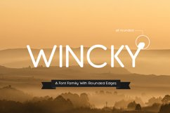 Wincky Font Product Image 1