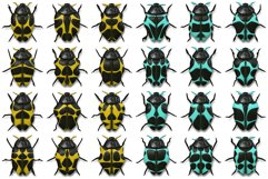 10 Beetle Collection Backgrounds Product Image 4