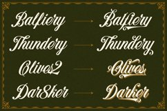 Benford Font Collections with Extras Product Image 5