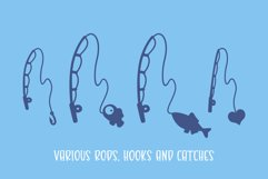 Gone Fishing - a fishing line font Product Image 4