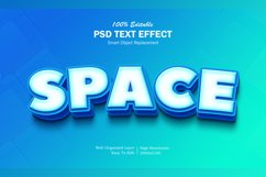3D Space Text Effect Product Image 1