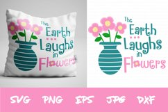 Spring SVG, Flower SVG, SIlhouette SVG, Cricut svg, clipart Product Image 1