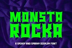 Monster Rock font - Monsta Rocka Product Image 2